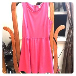 Old Navy hot pink dress